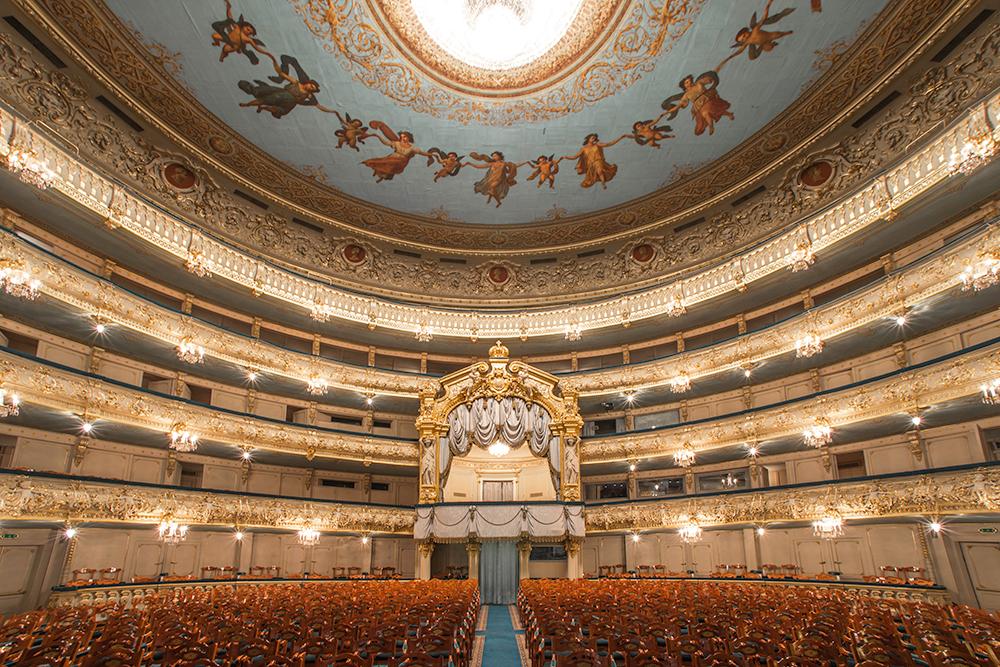 топиарий фотографии нового мариинского театра немного уменьшим