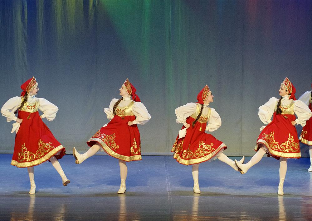 Картинка калинка малинка танец